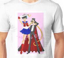 Tuxedo Moon and Sailor Mask Unisex T-Shirt