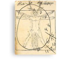 anatomy graham Canvas Print