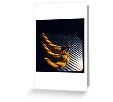 Banana  Greeting Card