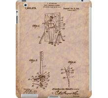 Magician - 1916 Knife Trowing Illusion Patent iPad Case/Skin