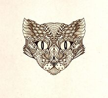 Decorative image of a cat by Mistra