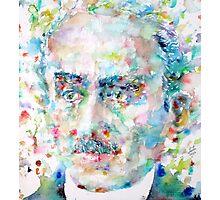 HENRI BERGSON - watercolor portrait Photographic Print