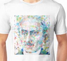 HENRI BERGSON - watercolor portrait Unisex T-Shirt