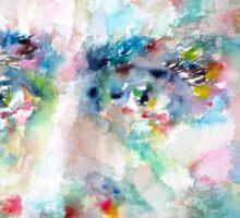 HENRI BERGSON - watercolor portrait Sticker