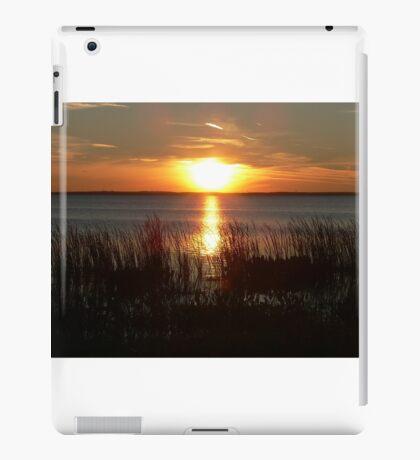 Sunset Through The Water Grass iPad Case/Skin