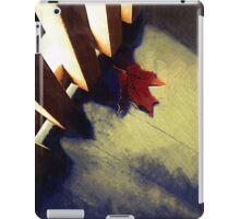 Last Leaf iPad Case/Skin