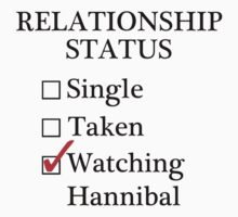 Relationship Status - Watching Hannibal by A-Starry-Night