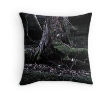 The false tree is dead Throw Pillow