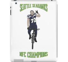 Michael Bennett Does a Victory Lap iPad Case/Skin