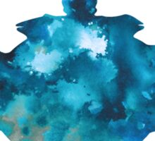 Teapot silhouette painting abstract wall decor Sticker