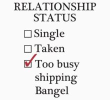 Relationship Status - Too Busy Shipping Bangel by A-Starry-Night