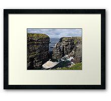 Loop Head Cliffs view Framed Print