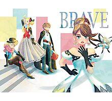 Brave Photographic Print