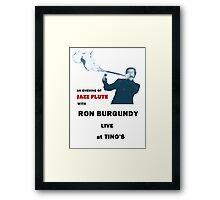 Jazz Flute Framed Print