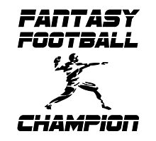 Fantasy Football Champion by TheBestStore