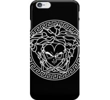 Versace Vegeta 9000 - white iPhone Case/Skin