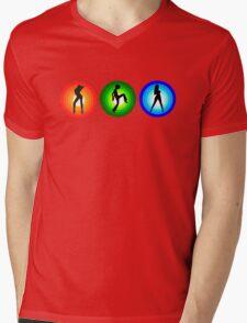 RGB Mens V-Neck T-Shirt
