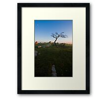 Sunrise at Dog Rocks Framed Print
