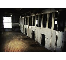 Shearing shed  Photographic Print