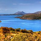 The Aegean Sea from Cape Sounion by Tom Gomez