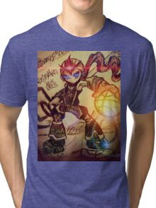 Dunk Master megaman Tri-blend T-Shirt