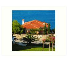 Adriatic Life Art Print