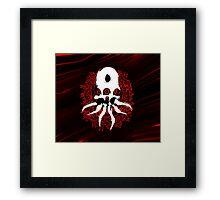 Alien Skull Framed Print