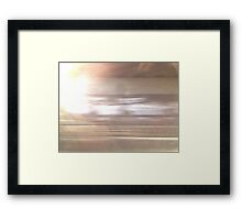 Zoom 1 Framed Print