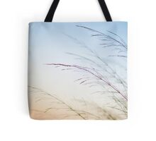 flowering Cane closeup with pastel coloured background  Tote Bag