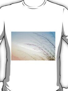 flowering Cane closeup with pastel coloured background  T-Shirt