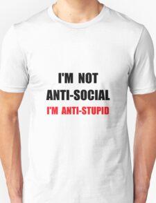 Anti Stupid T-Shirt