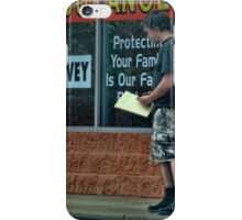 Are you covered? iPhone Case/Skin