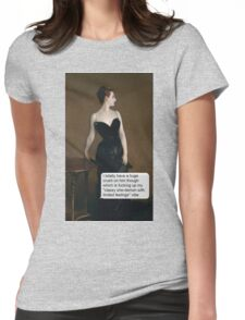 Madame She-Demon With Limited Feelings Womens Fitted T-Shirt
