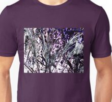 Reed - Violet and White Unisex T-Shirt