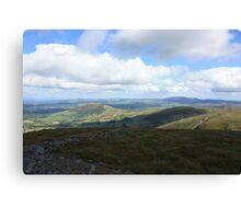 West Cork Mountains Canvas Print