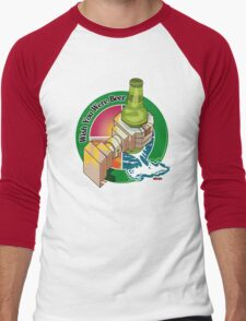 Wish you were beer Men's Baseball ¾ T-Shirt