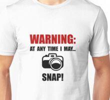 Camera Snap Unisex T-Shirt