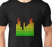 Audio Spectrum Bars Unisex T-Shirt