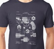 Revolver - Gun - 1881 Mason Revolver Firearm Patent Unisex T-Shirt
