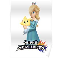 Super Smash Bros. 3DS/Wii U Rosalina Poster