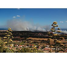 Island Fire Photographic Print