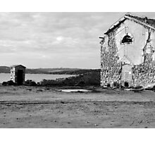 Island Caprera: military archeology Photographic Print