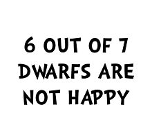 Dwarfs Not Happy by TheBestStore