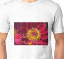 Drops in the flower (II) Unisex T-Shirt