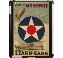 Air Service (Reproduction) iPad Case/Skin