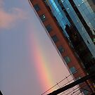 Rainbow in the City by TerraChild