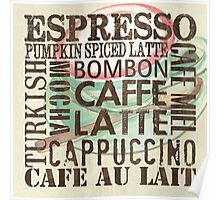 Coffee of the Day 2 Cream Poster