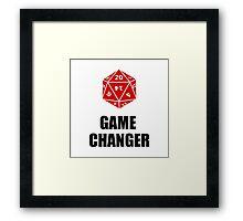 Game Changer Framed Print