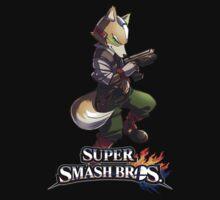 Super Smash Bros. 3DS/Wii U Fox by KwanChau