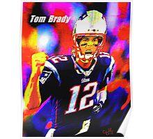 Tom Brady Poster